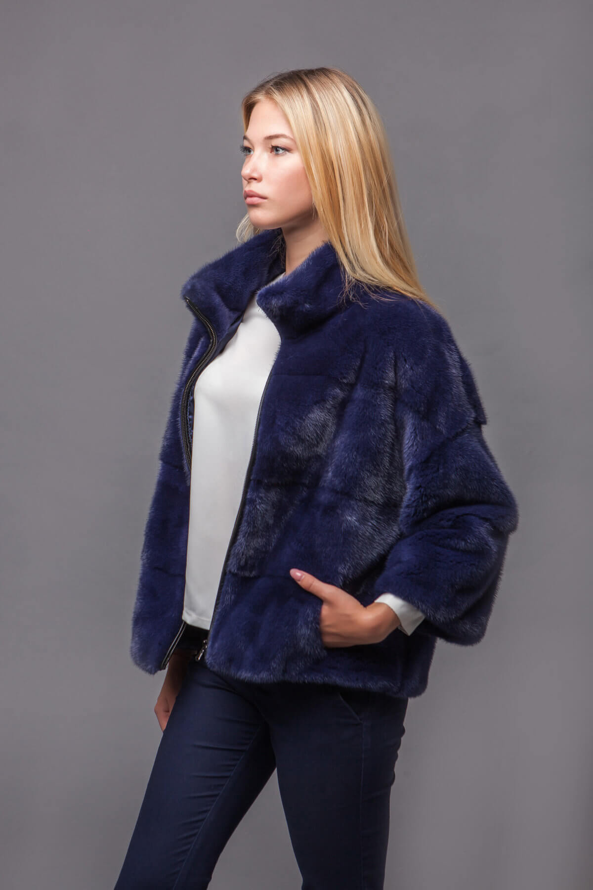 Куртка из скандинавской норки. Фото 4