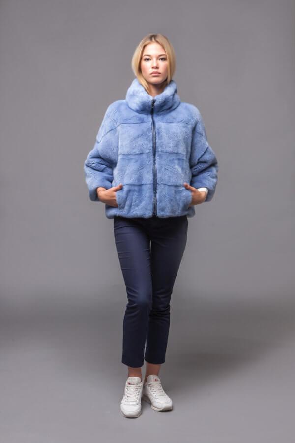 Куртка из скандинавской норки. Фото 1