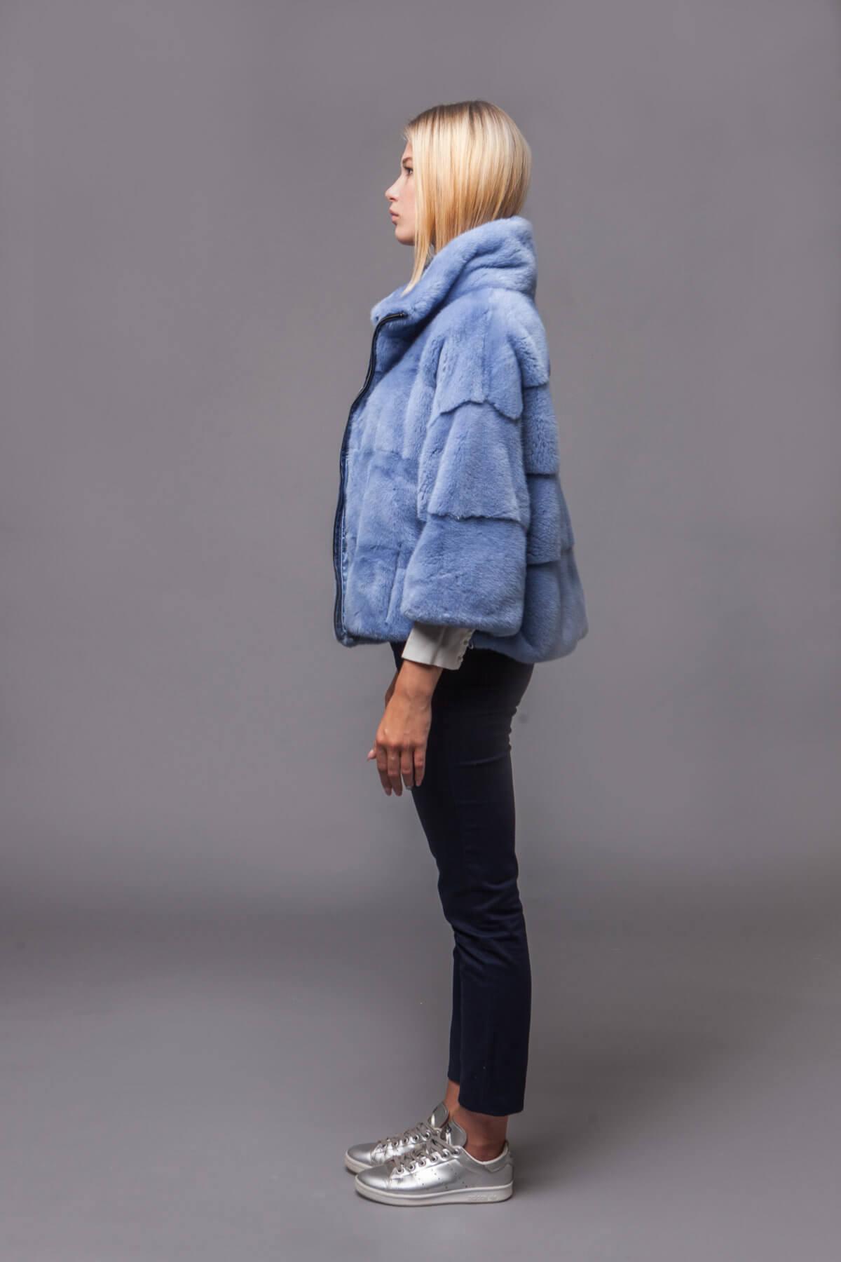 Куртка из скандинавской норки. Фото 5