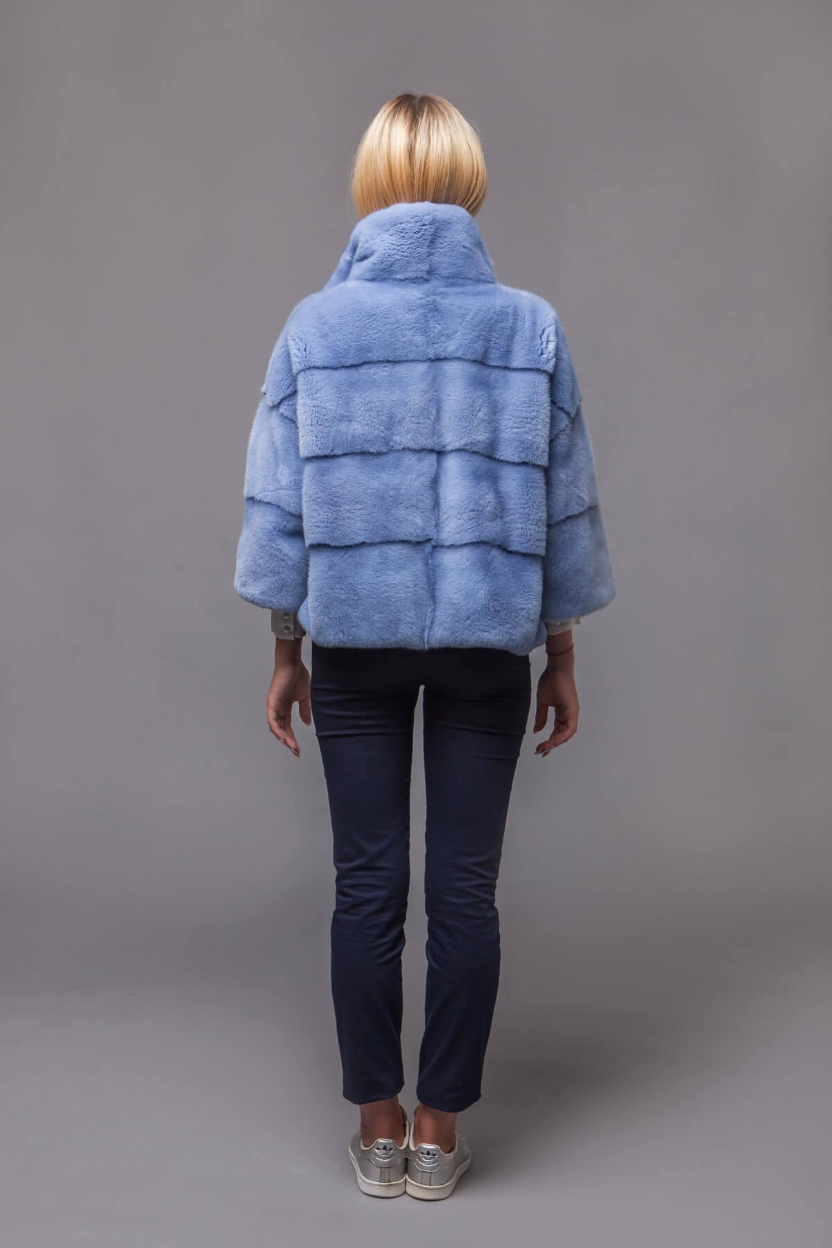 Куртка из скандинавской норки. Фото 6