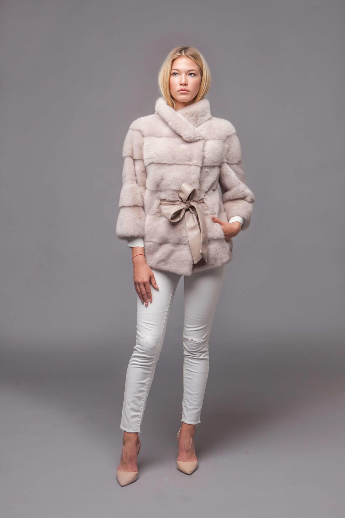 Пальто из скандинавской норки. Фото 1