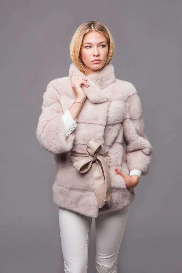 Пальто из скандинавской норки. Фото 2