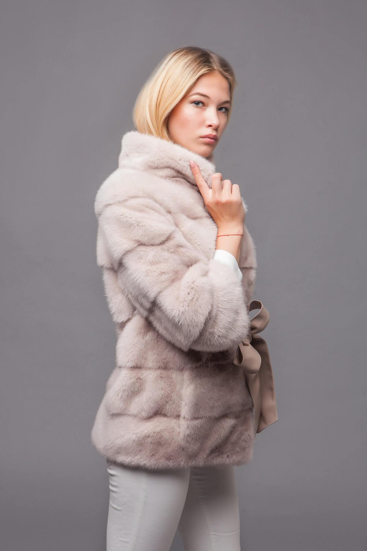 Пальто из скандинавской норки. Фото 4