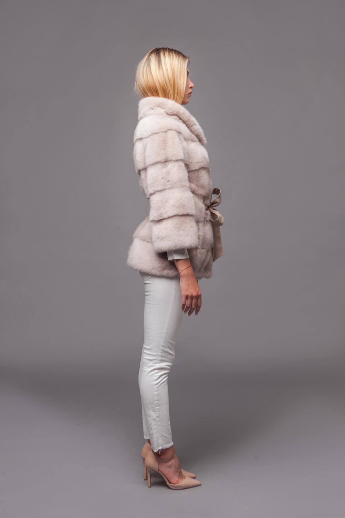 Пальто из скандинавской норки. Фото 5