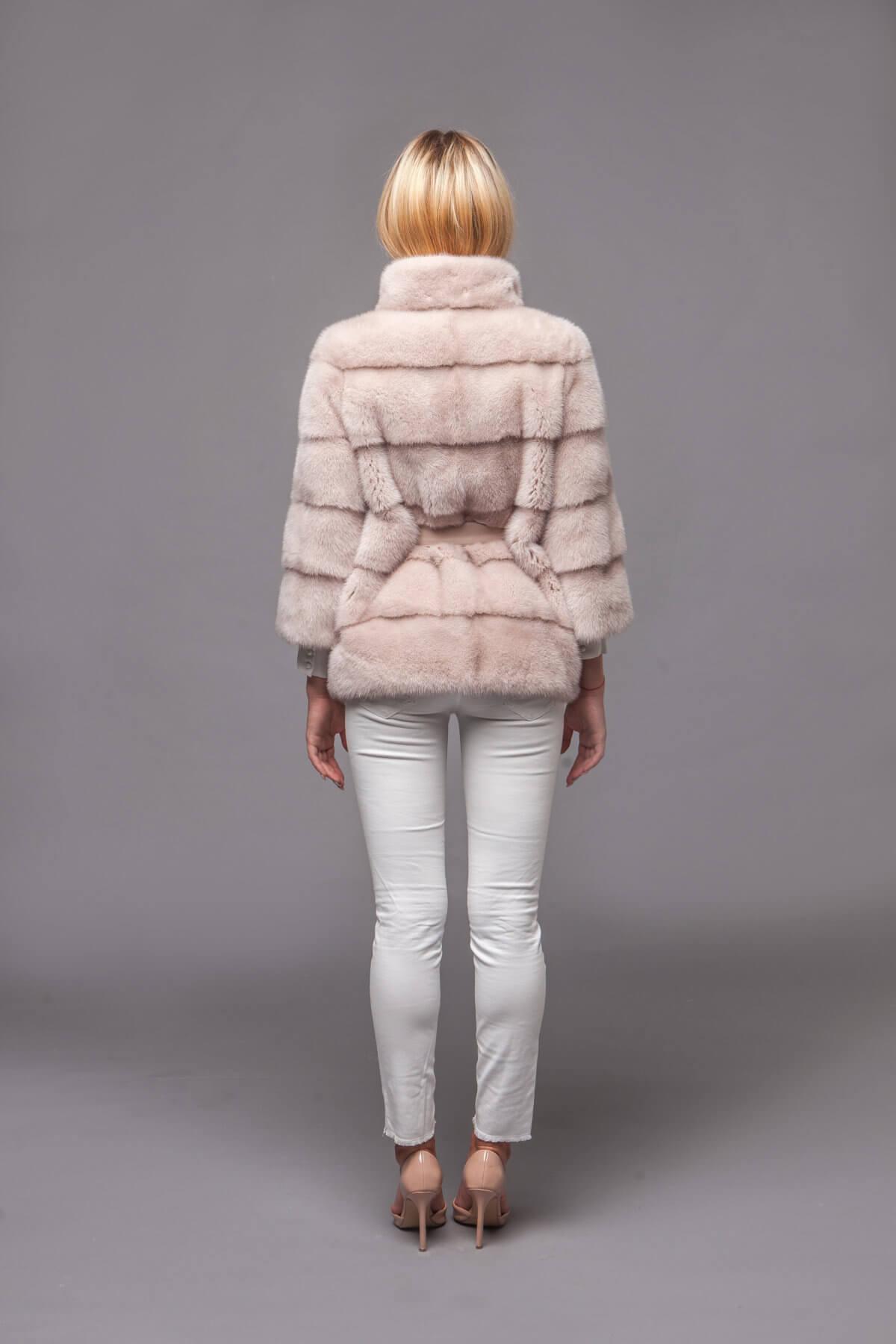Пальто из скандинавской норки. Фото 6
