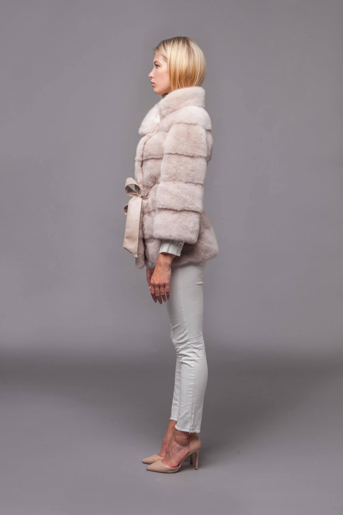 Пальто из скандинавской норки. Фото 7