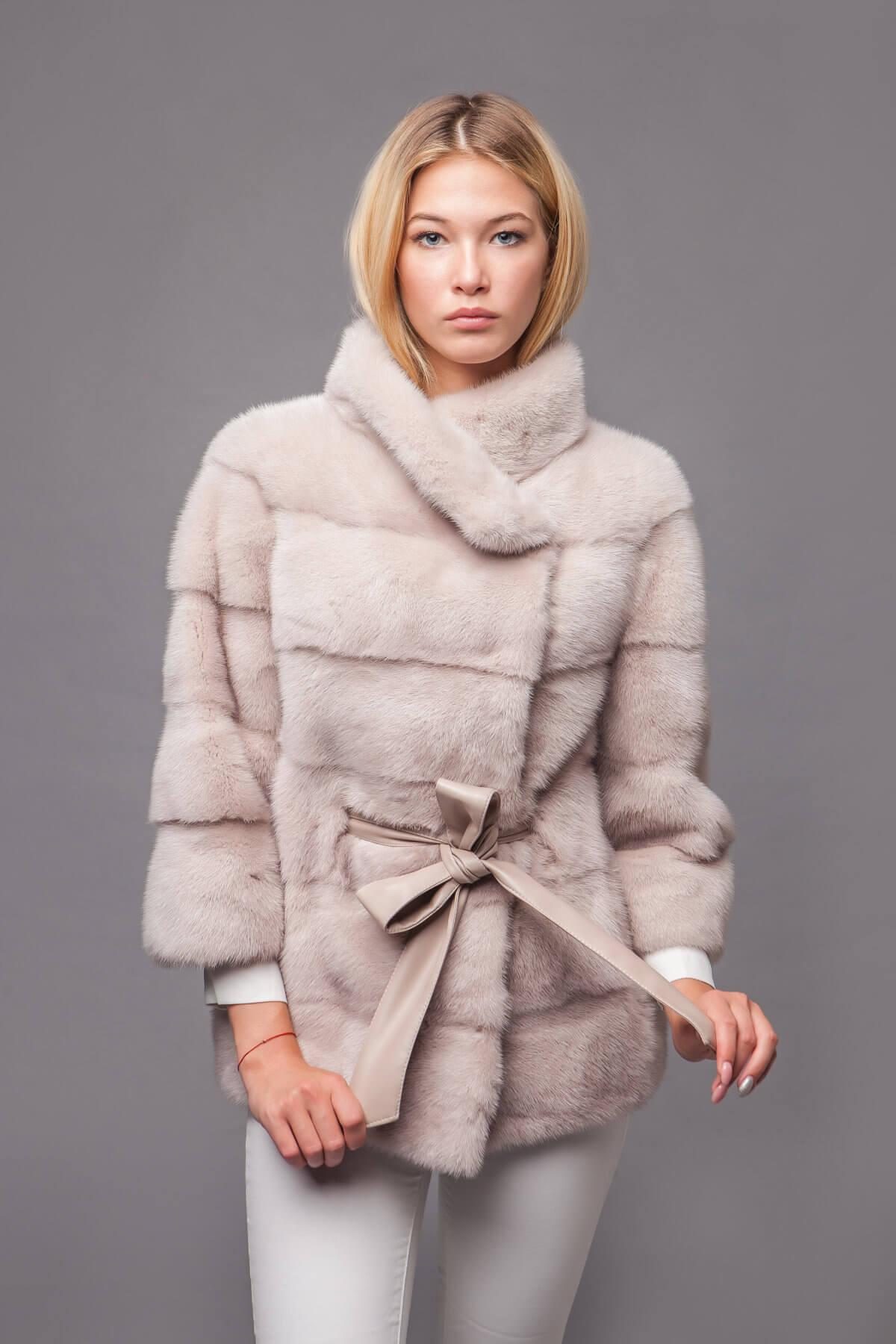 Пальто из скандинавской норки. Фото 8