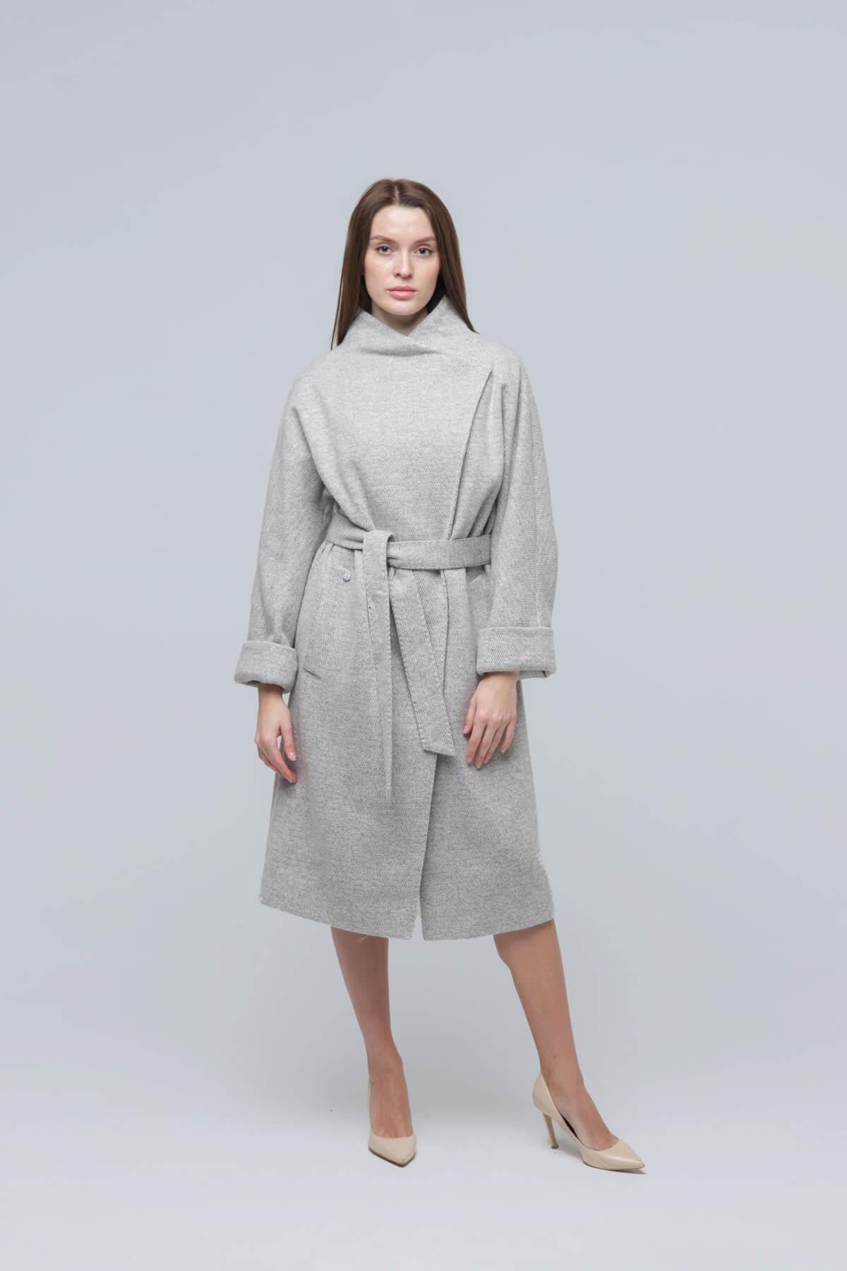 Пальто из текстиля. Фото 2