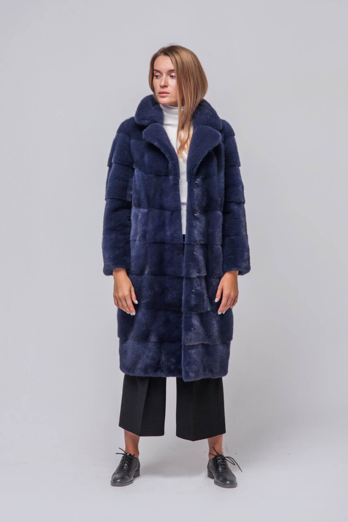 Пальто из европейской норки KOPENHAGEN FUR. Фото 3