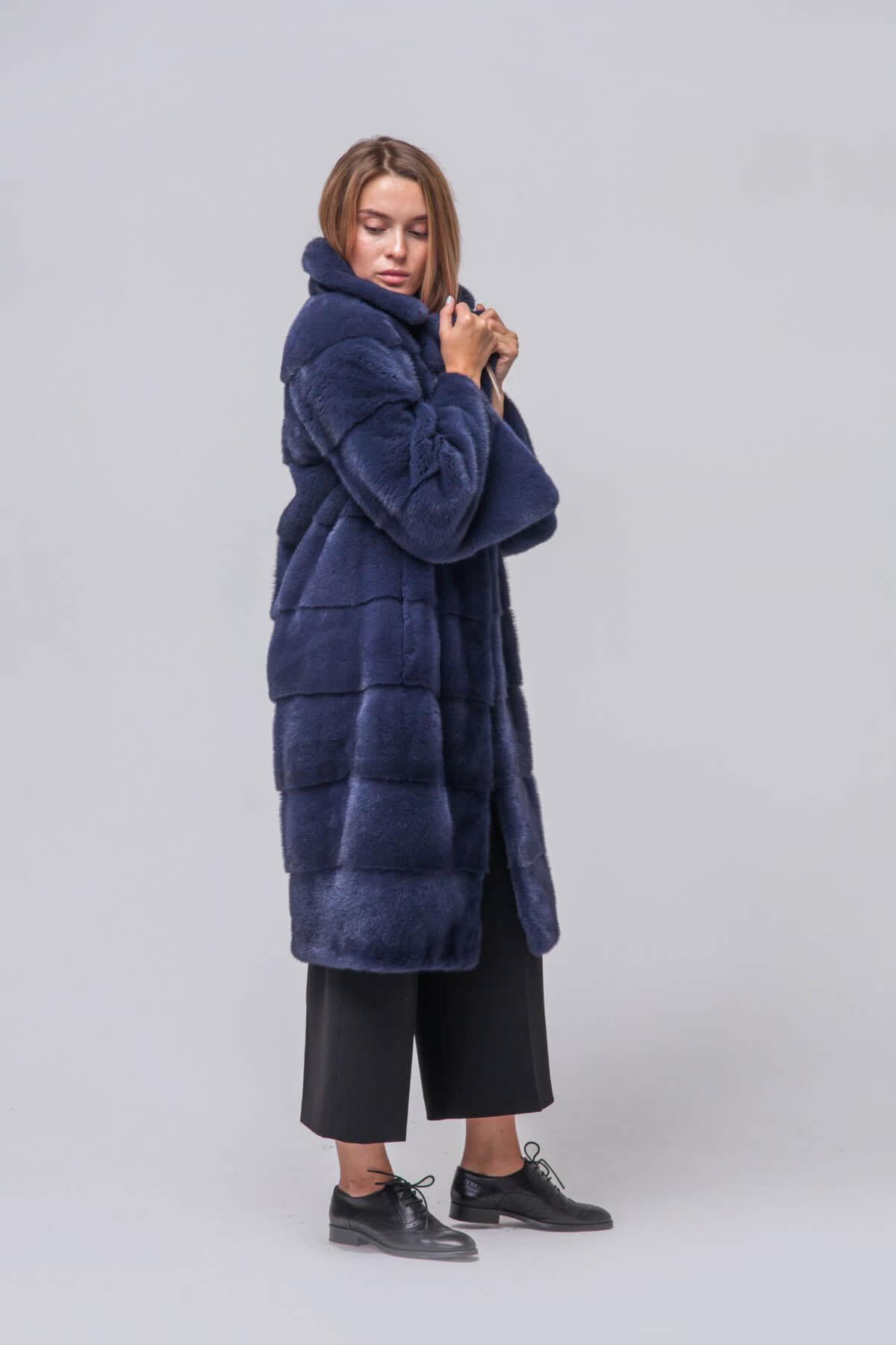 Пальто из европейской норки KOPENHAGEN FUR. Фото 4