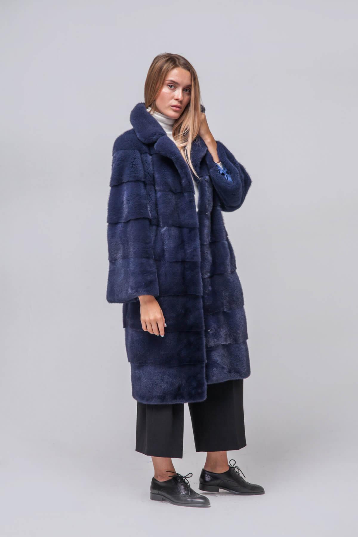 Пальто из европейской норки KOPENHAGEN FUR. Фото 5