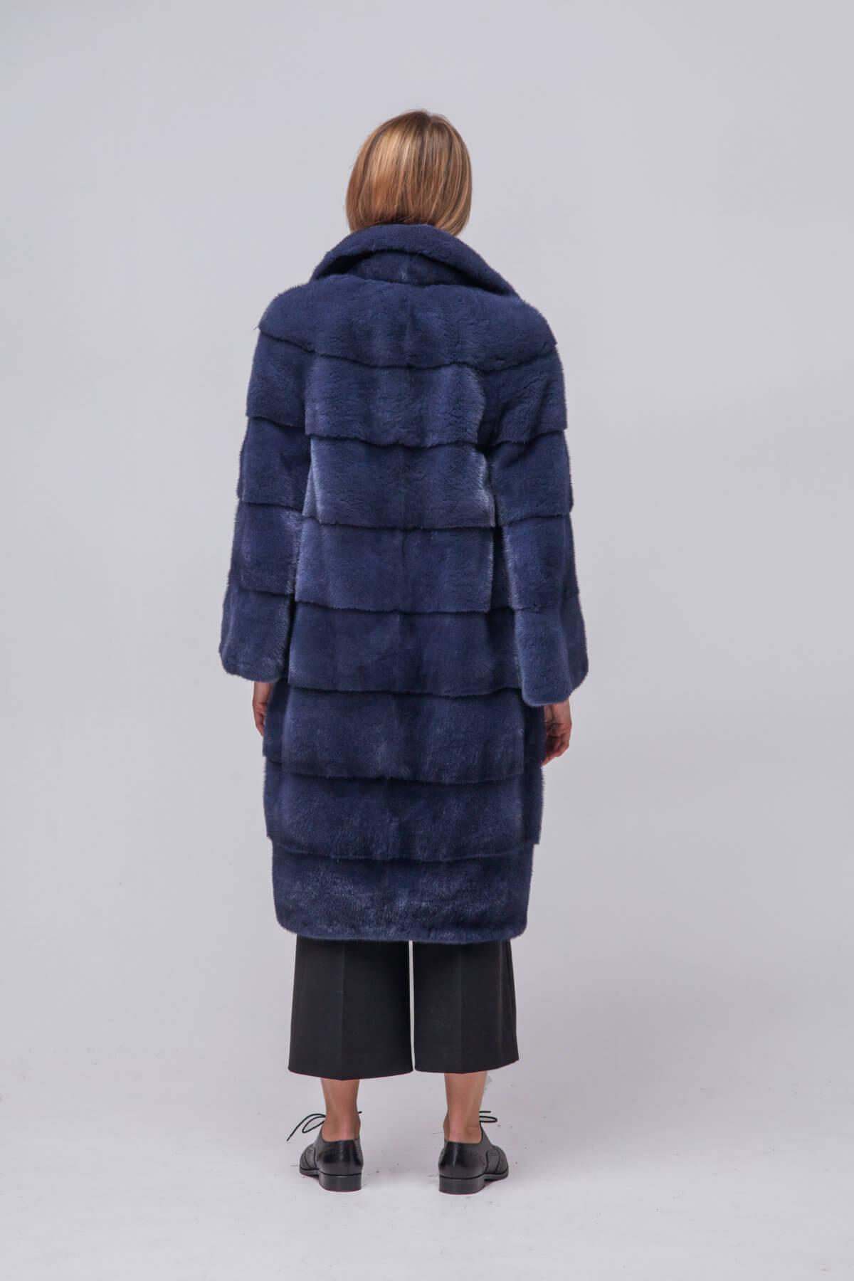 Пальто из европейской норки KOPENHAGEN FUR. Фото 7