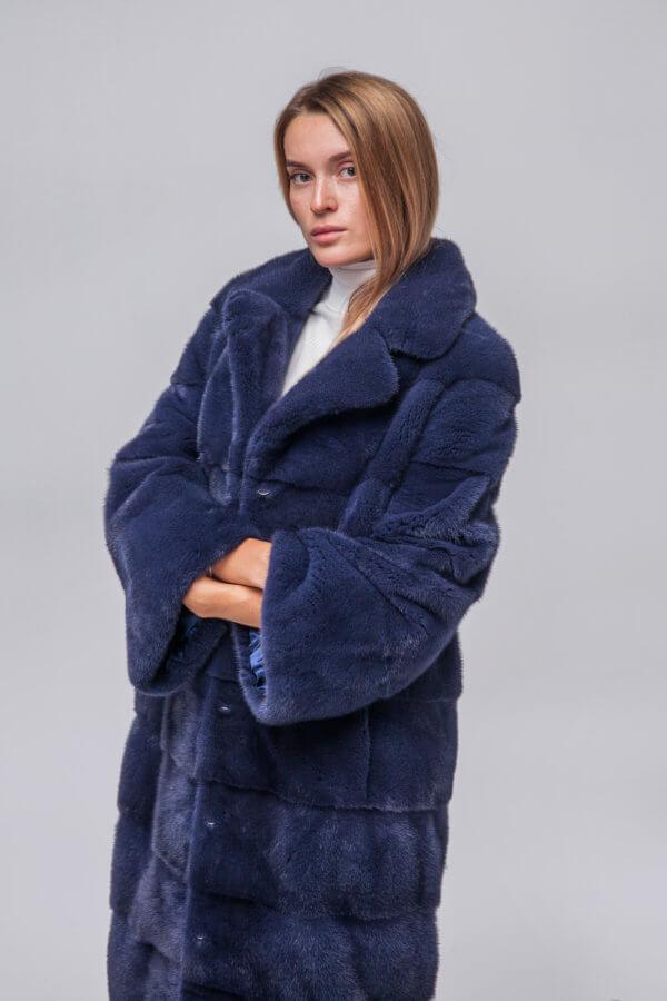 Пальто из европейской норки KOPENHAGEN FUR. Фото 2
