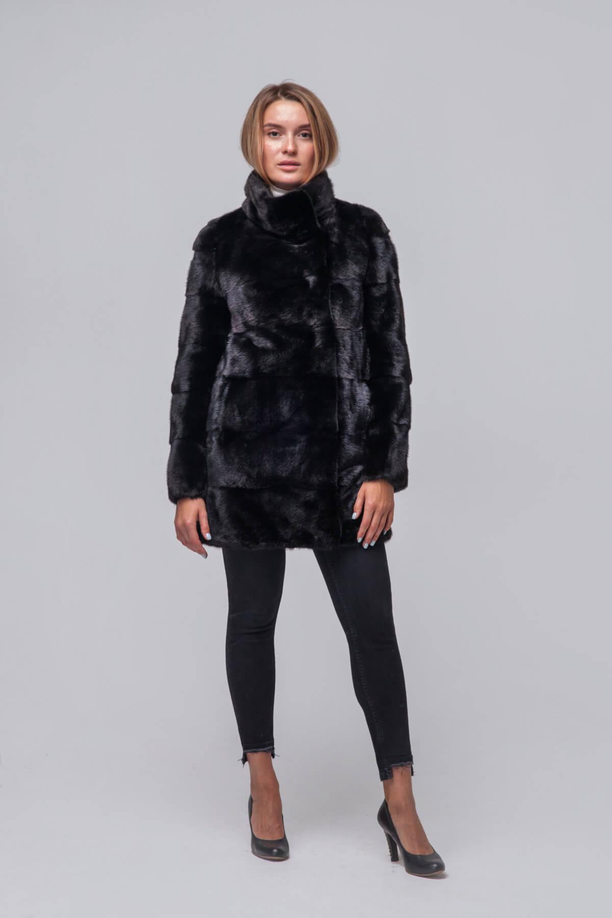 Полупальто из скандинавской норки Kopenhagen Fur. Фото 1