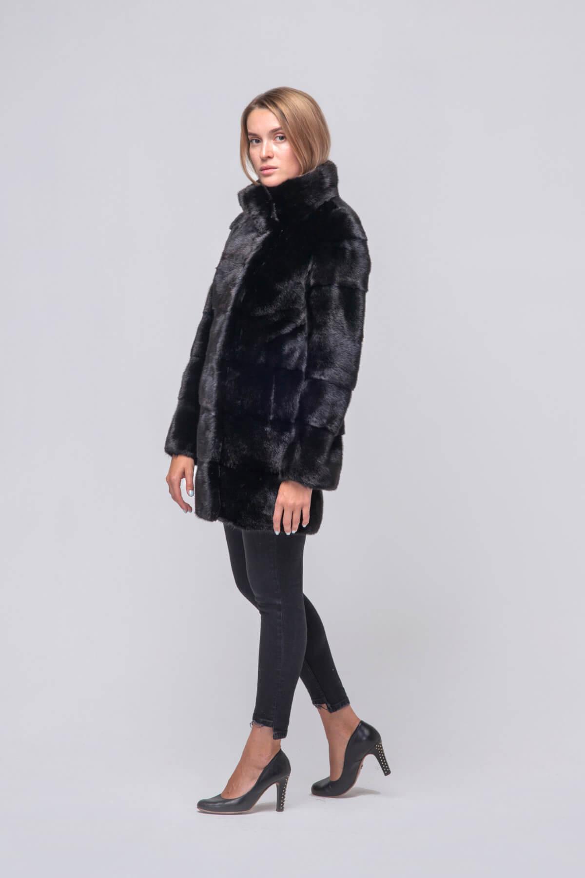 Полупальто из скандинавской норки Kopenhagen Fur. Фото 4
