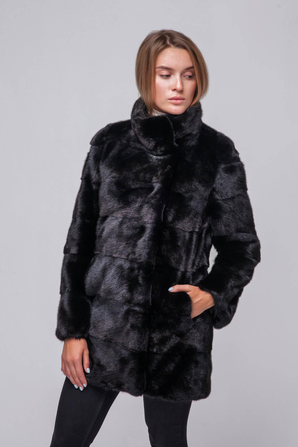 Полупальто из скандинавской норки Kopenhagen Fur. Фото 3