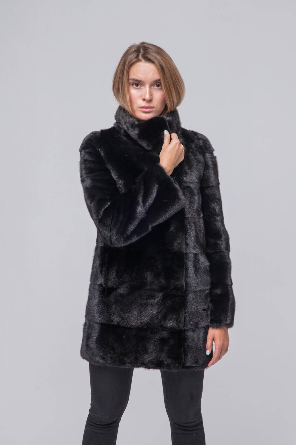 Полупальто из скандинавской норки Kopenhagen Fur. Фото 2