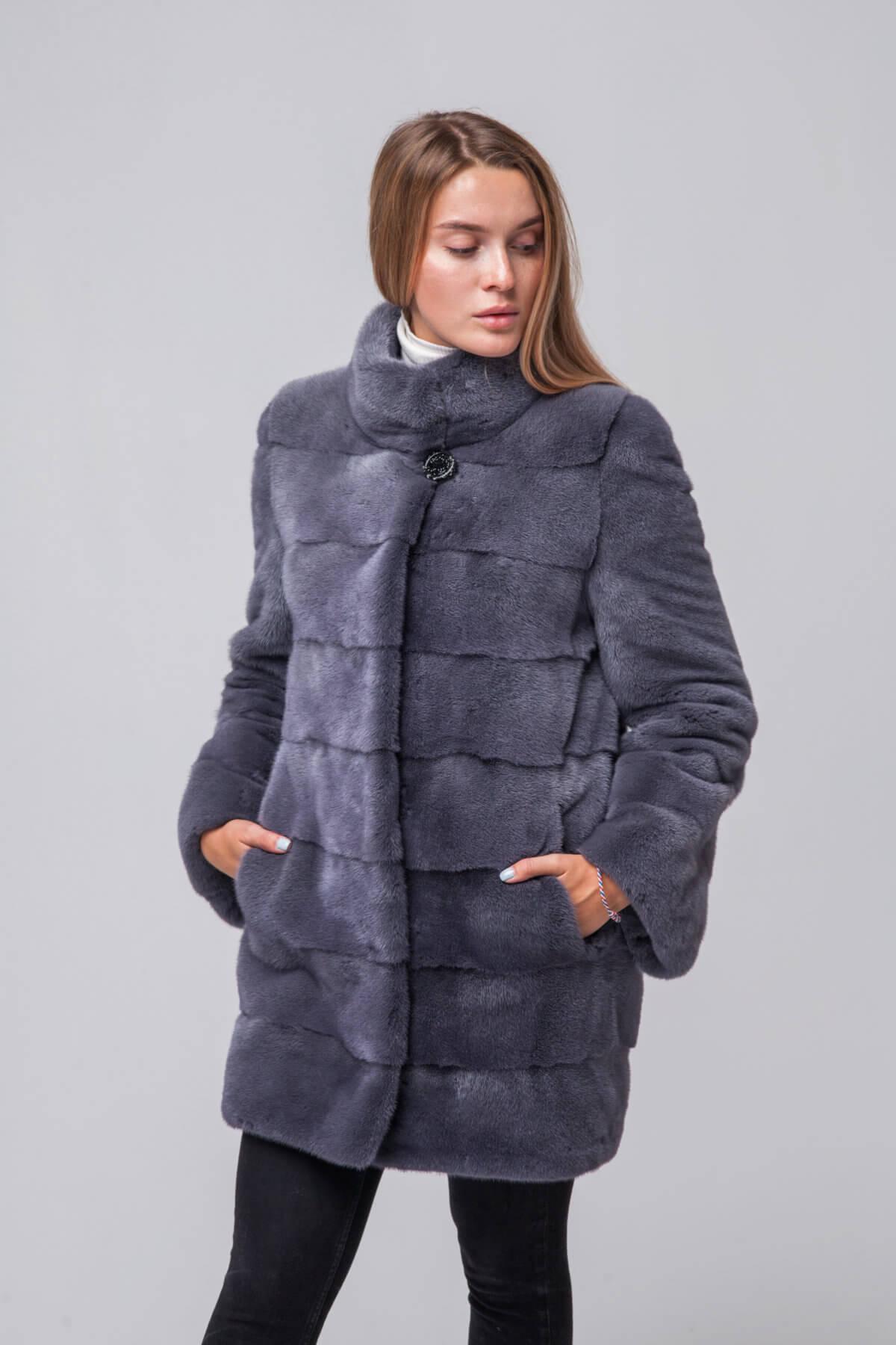 Пальто из европейской норки. Фото 2