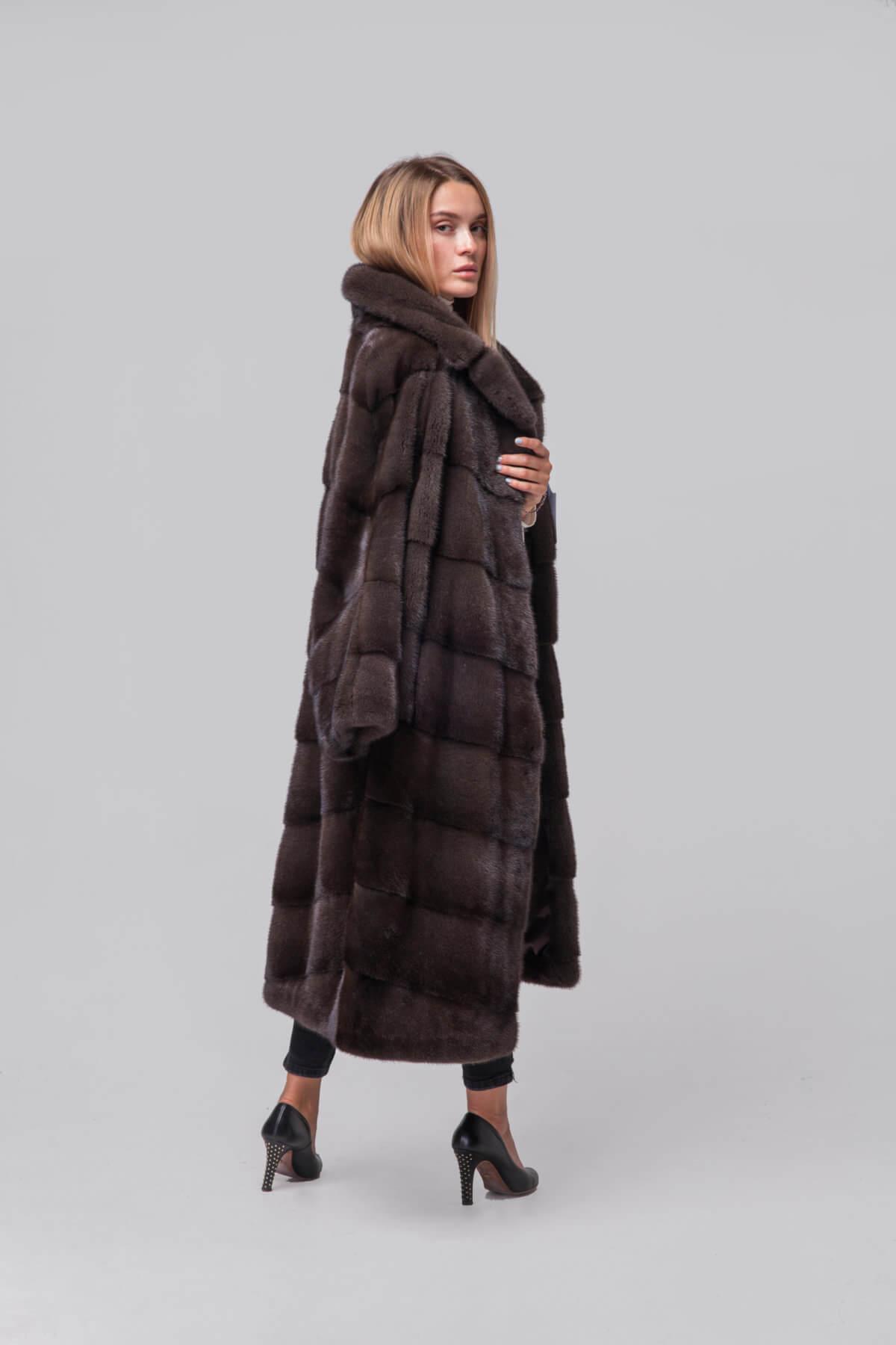 Пальто из европейской норки. Фото 3