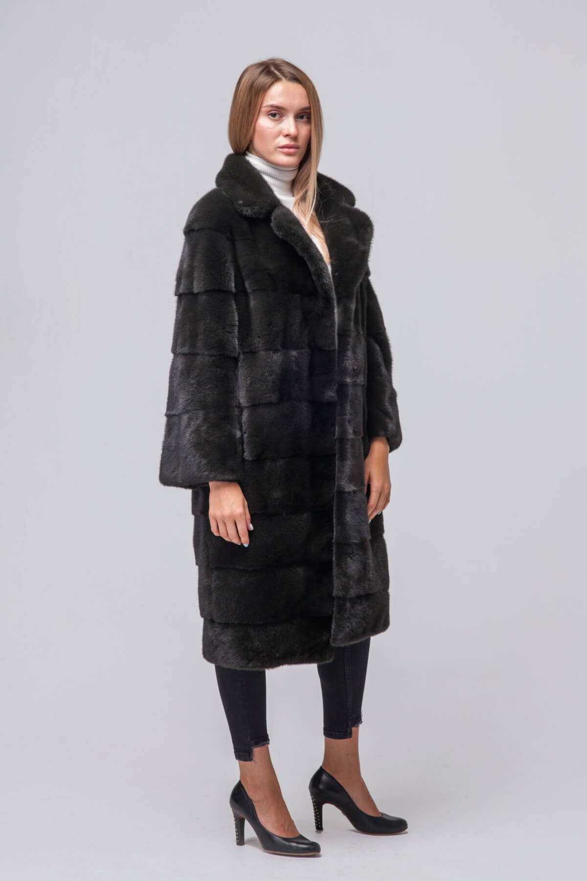 Пальто из европейской норки KOPENHAGEN FUR. Фото 1