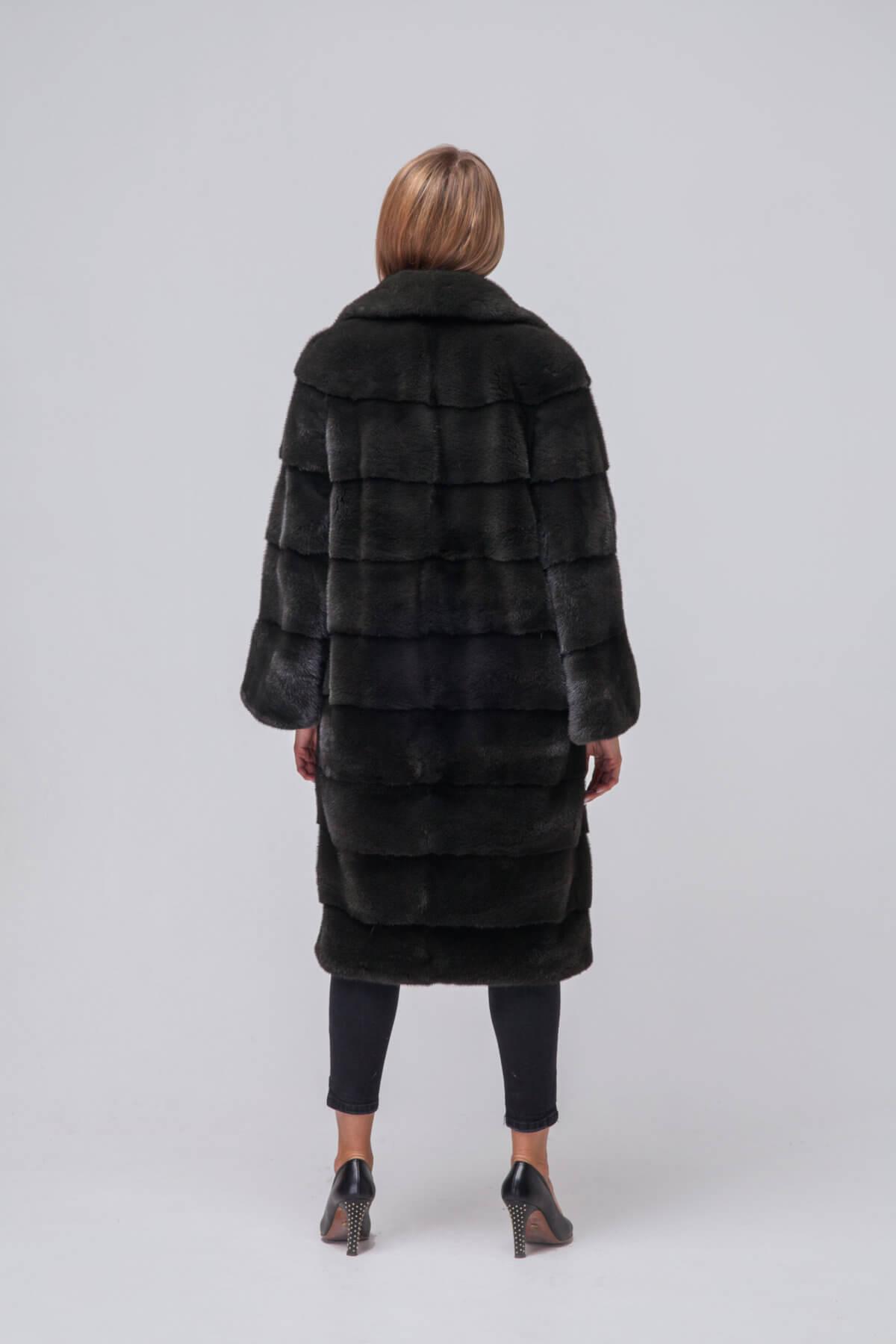 Пальто из европейской норки KOPENHAGEN FUR. Фото 6