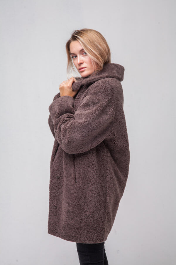 Пальто из овчины. Фото 2