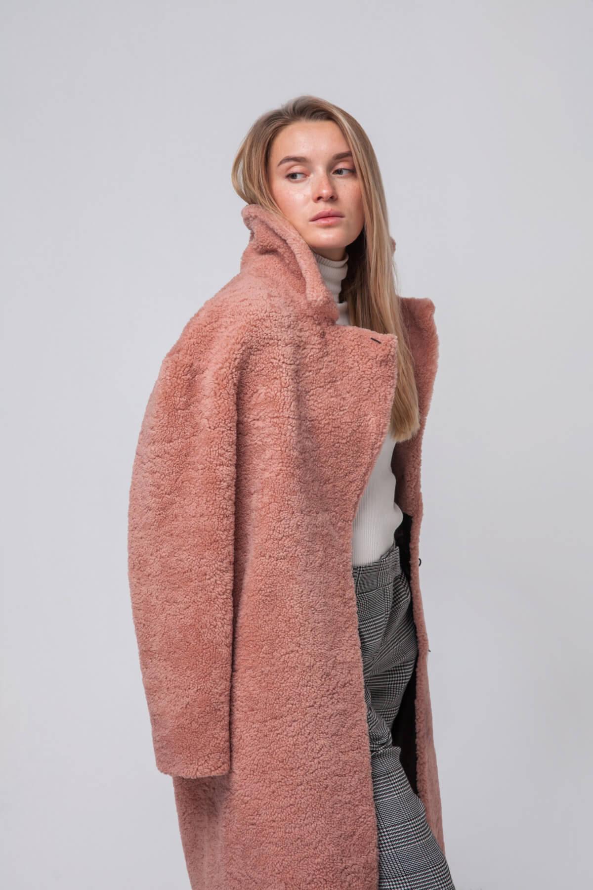 Пальто из овчины. Фото 3