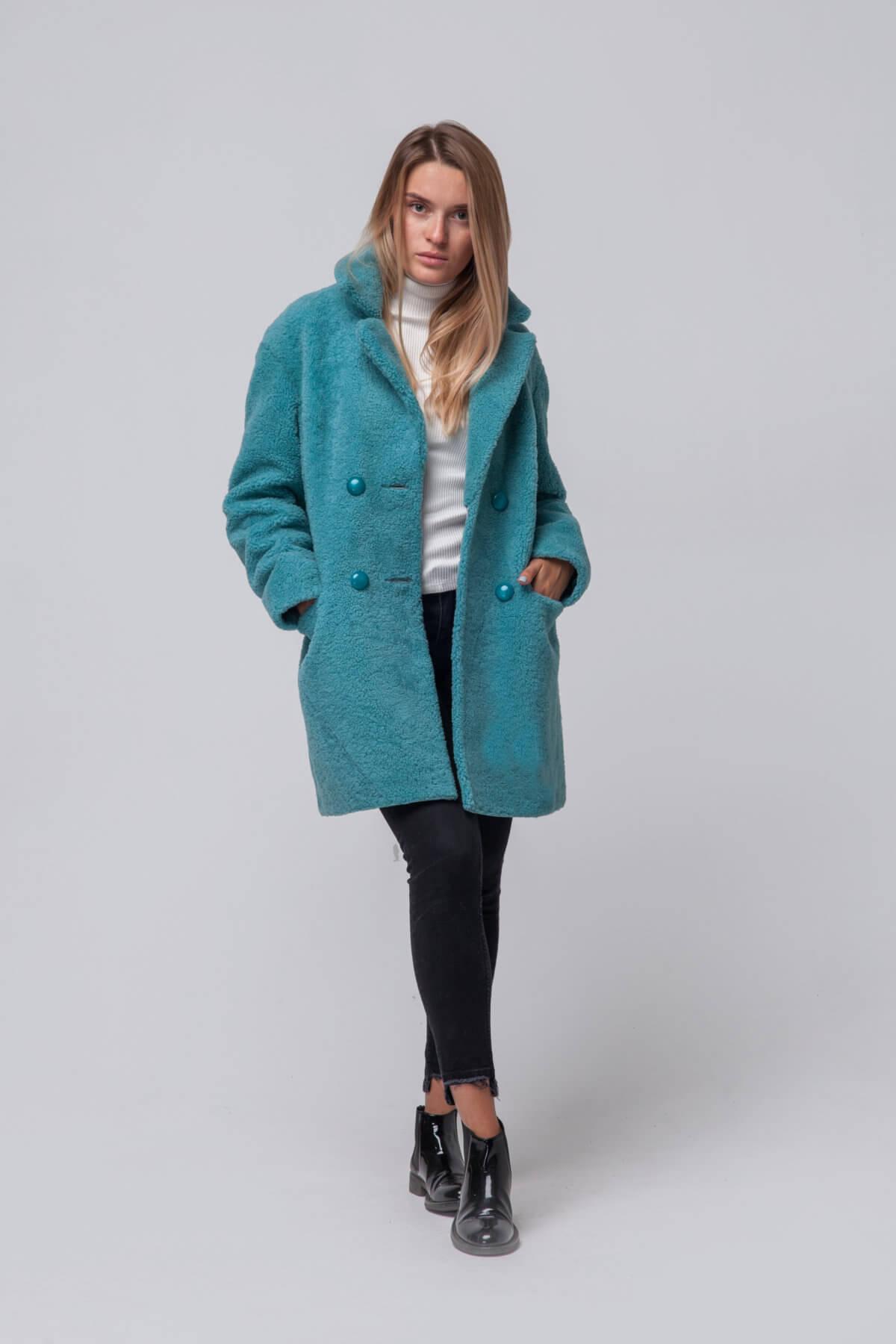 Пальто из овчины. Фото 1