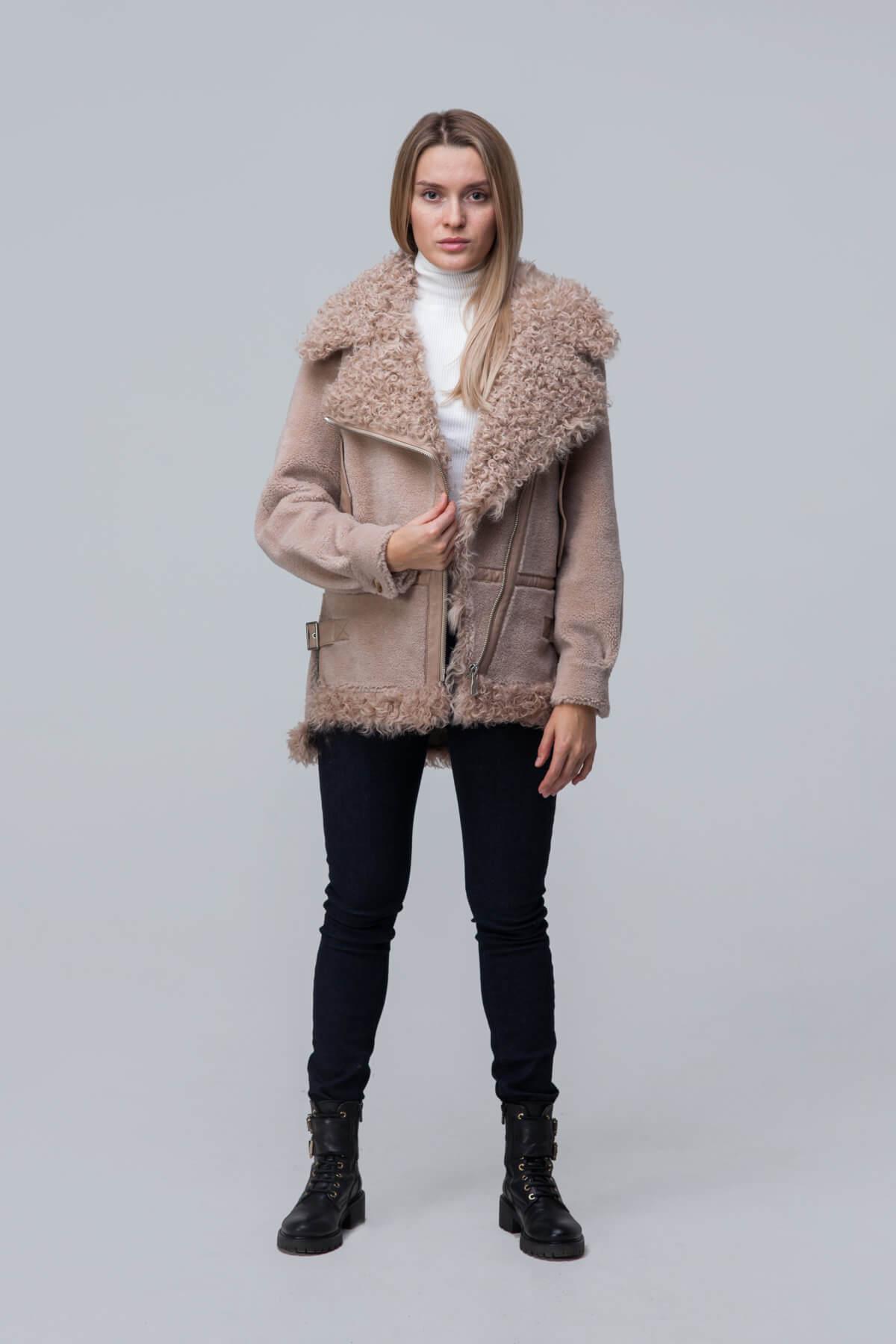 Куртка из шерсти с барашком. Фото 1