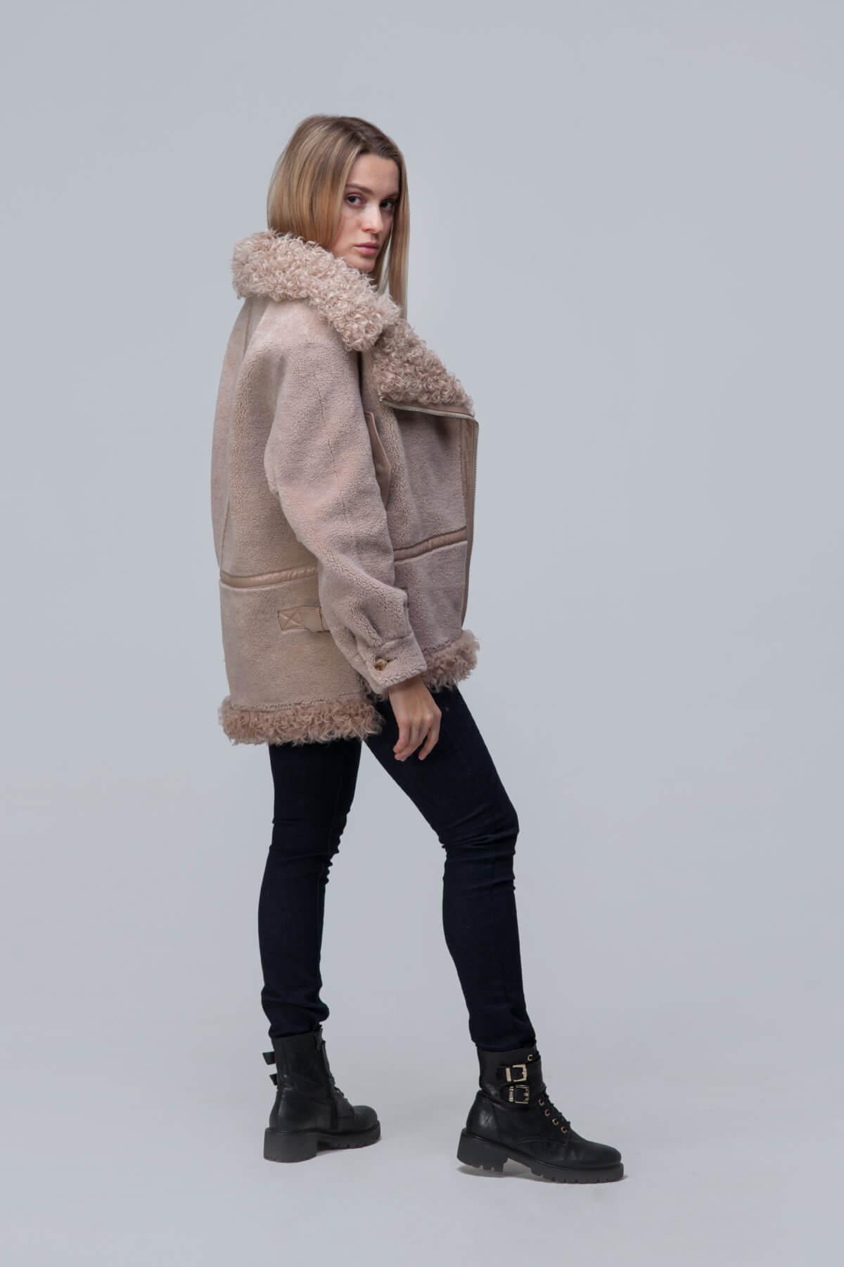 Куртка из шерсти с барашком. Фото 3
