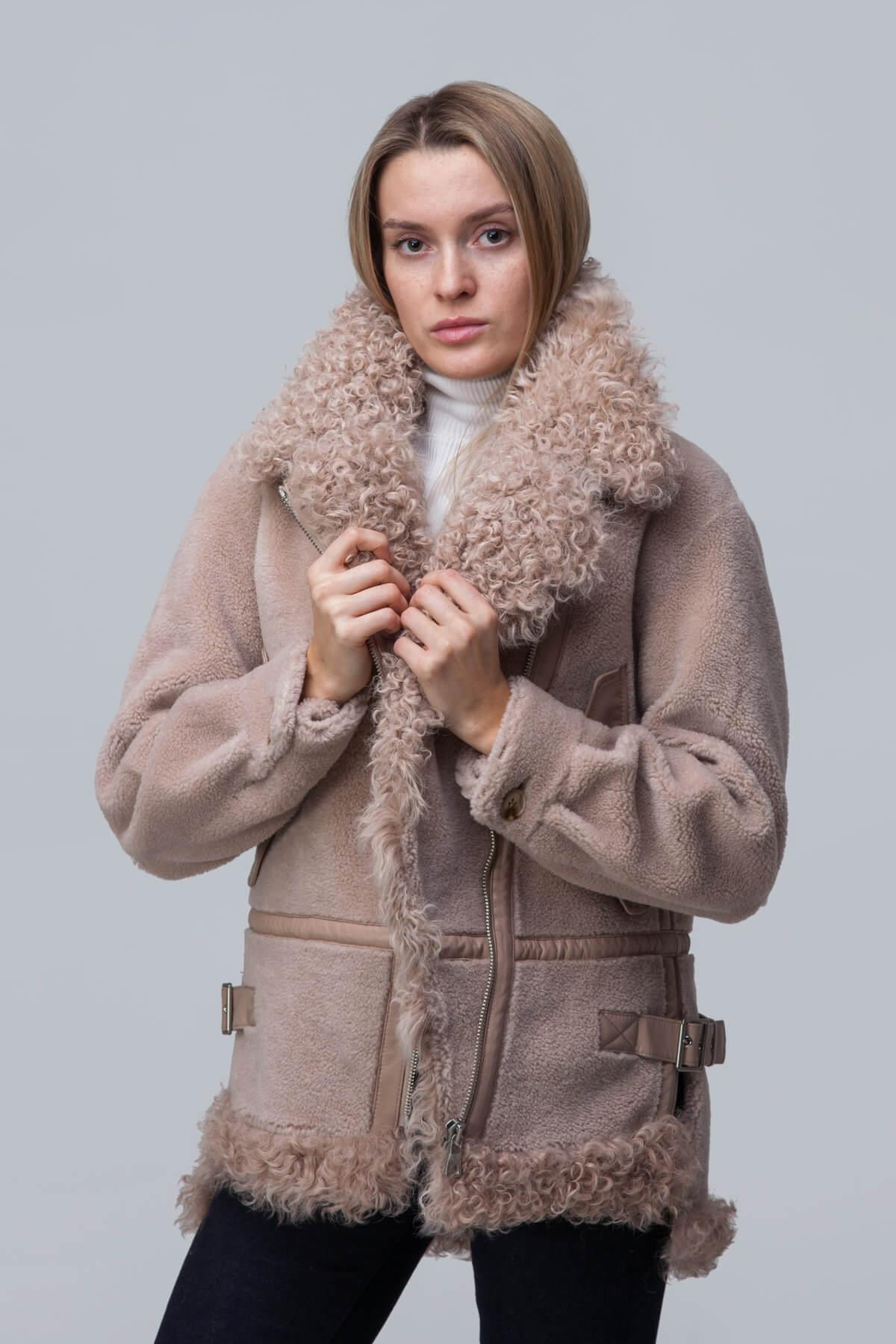 Куртка из шерсти с барашком. Фото 2