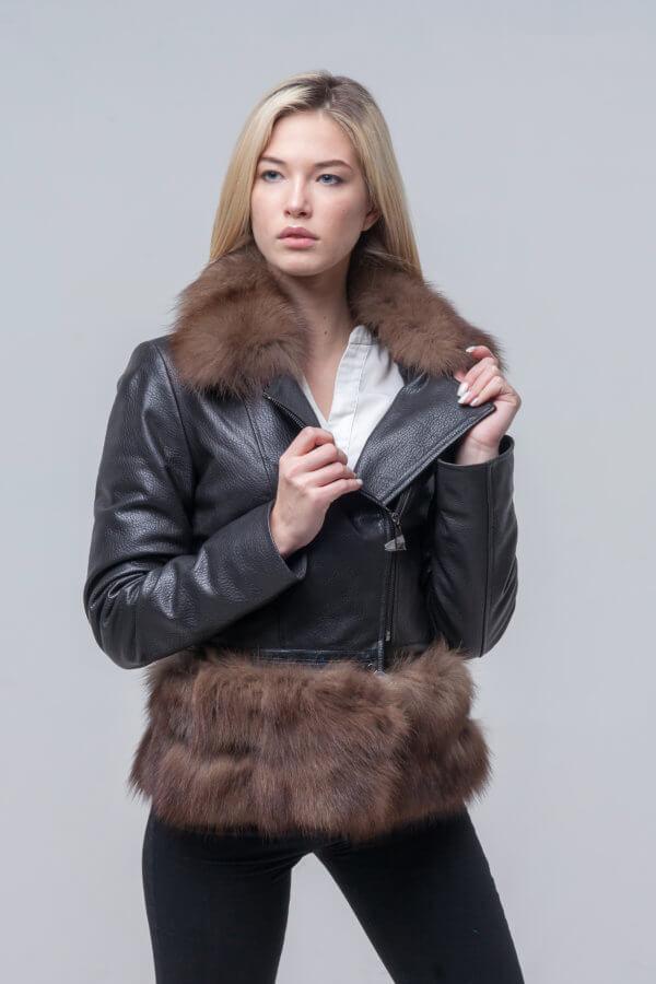 Укороченная куртка