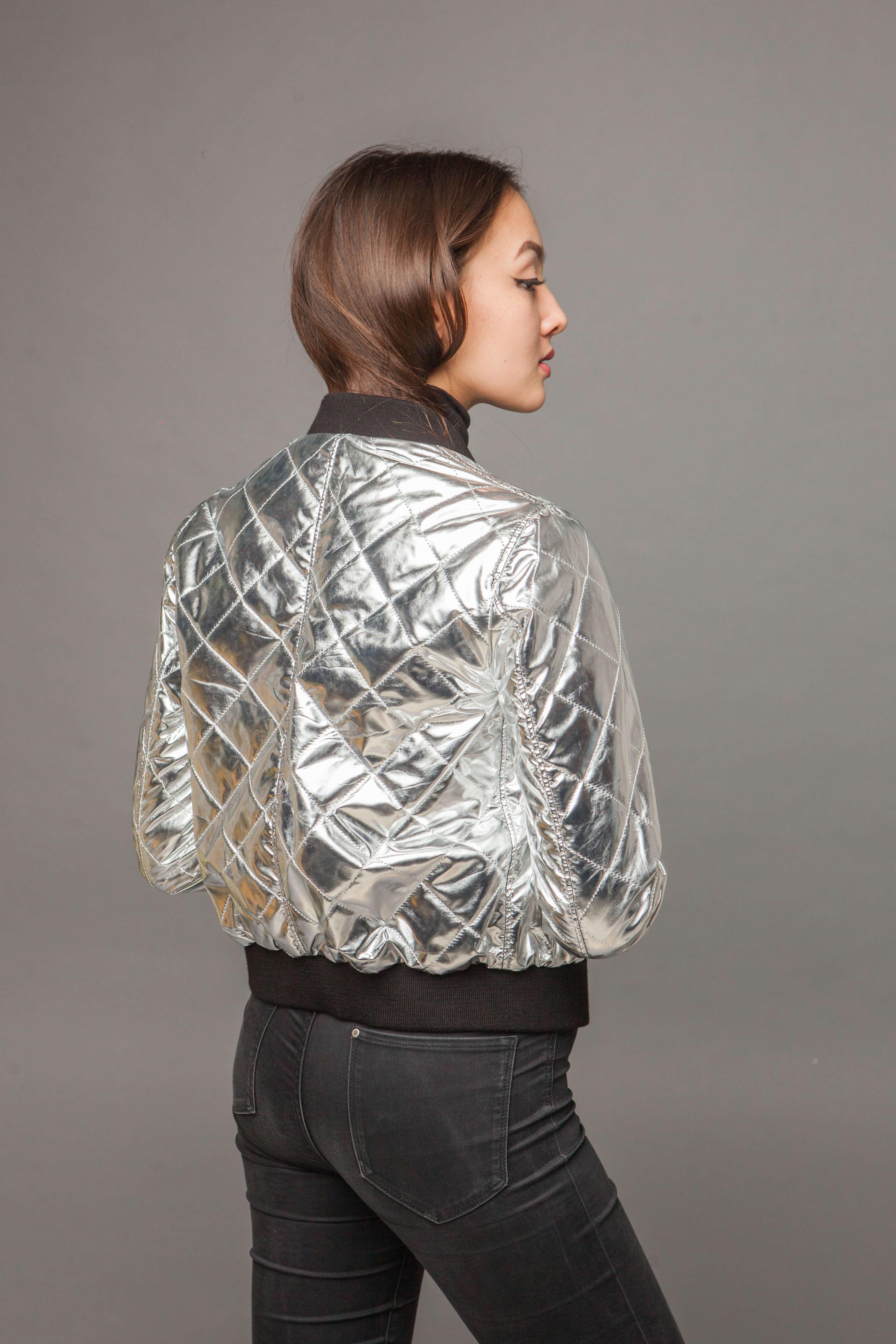 Модная двусторонняя куртка из натуральной кожи. Фото 5