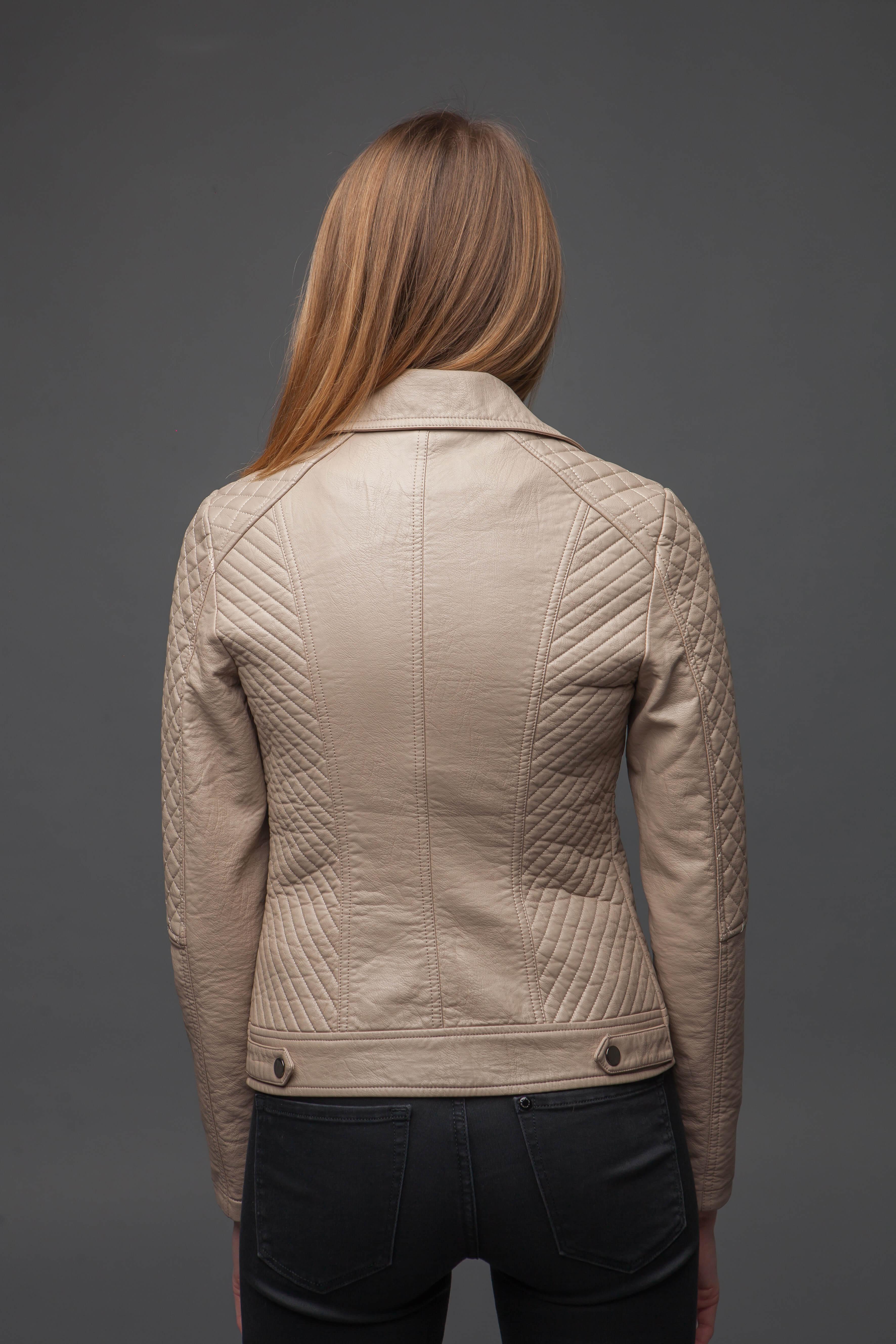 Женская куртка-косуха. Фото 4